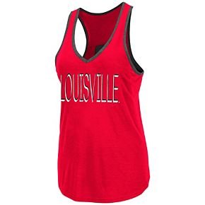 Women's Louisville Cardinals Tulip Tank Top