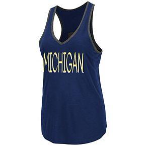 Women's Michigan Wolverines Tulip Tank Top