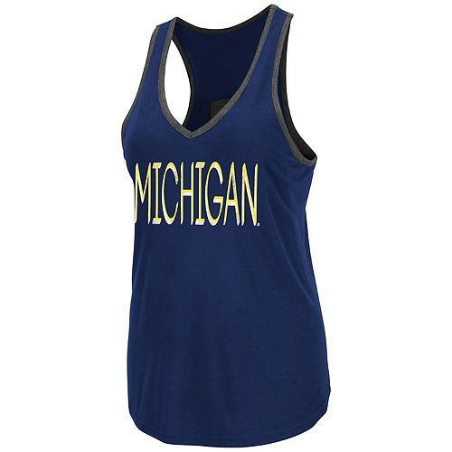 Women's Michigan Wolverines Tulip Tank Top