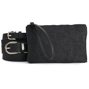 Women's Stone & Company Double Belt Bag Set