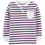 Toddler Boy Oshkosh B'Gosh® Striped Thermal Tee
