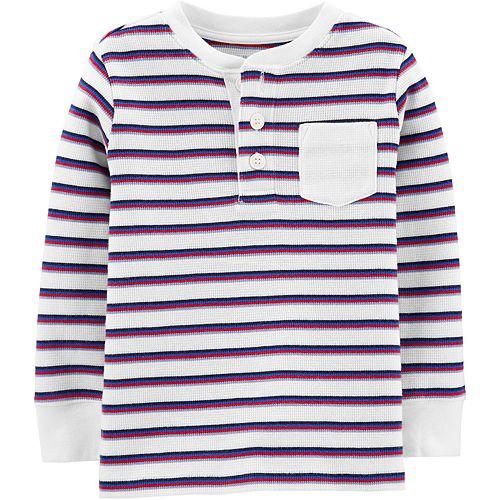 Toddler Boy Oshkosh B'Gosh® Striped Thermal Tee