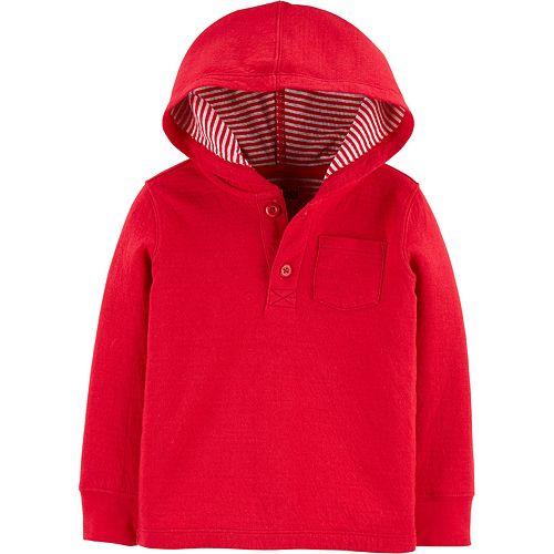 Toddler Boy Oshkosh B'Gosh® Hooded Pocket Tee