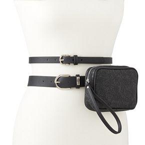 Women's Stone & Company Double Belt Bag Set