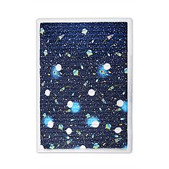 Lush Decor Universe Sherpa Throw