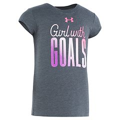 Girls 4-6x Under Armour 'Girl With Goals' Graphic Tee