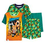 Boys 4-10 Lego Jurassic World 4-Piece Pajama Set