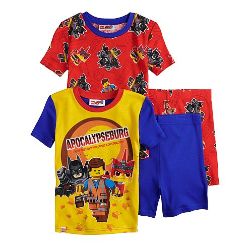 Boys 4-10 Lego Movie 2 4-Piece Pajama Set