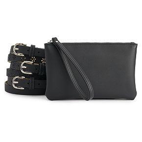 Women's Stone & Company Triple Belt Bag Set