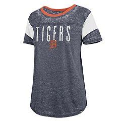 best loved 19196 6ff42 Women s  47 Brand Detroit Tigers Match Sleeve Stripe Tee