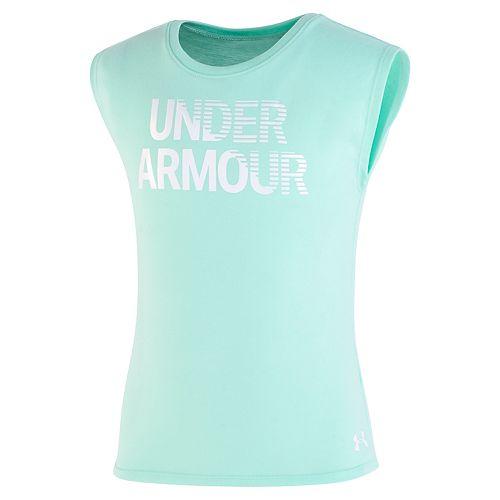 Girls 4-6x Under Armour Logo Performance Top