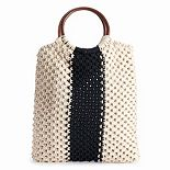 Fantasia Accessories Veronica Macrame Handbag