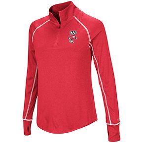 Women's Wisconsin Badgers Acacia Pullover