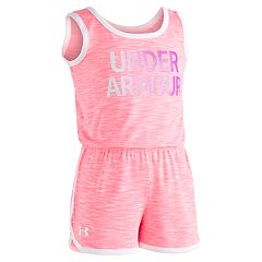 Girls 4-6x Under Armour Courtside Logo Romper