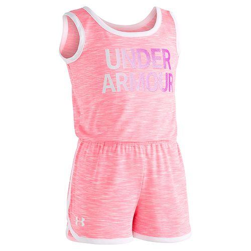 Girls 4-6x Under Armour Courtside Logo Romper