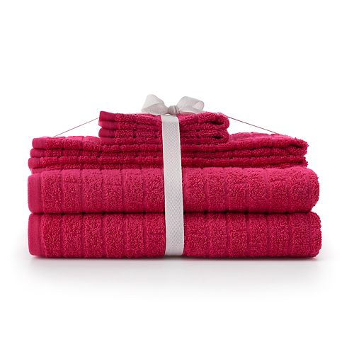 The Big One® Colorstay Textured Bath Towel Set