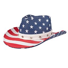 2395850d68b Men's Wembley Americana Straw Cowboy Hat