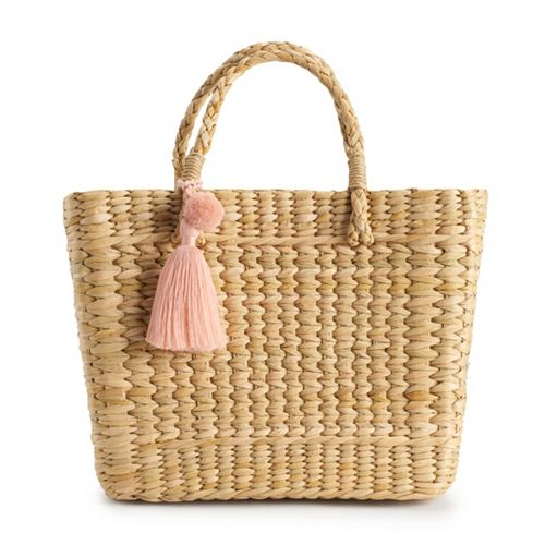Circus by Sam Edelman Maura Straw Basket Handbag