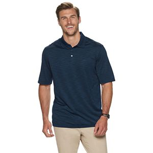 Big & Tall Haggar Classic-Fit Space-Dye Polo