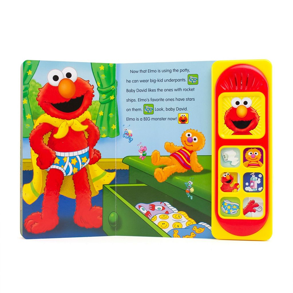 Sesame Street Elmo Potty Time Songs Book