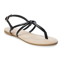 LC Lauren Conrad Cocoa Women's Strappy Sandals