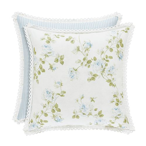 37 West Rosalind Floral Throw Pillow