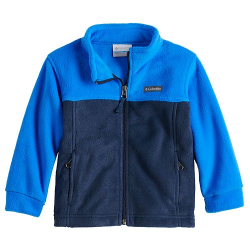 Toddler Boy Columbia Fuzzy Fleece Jacket
