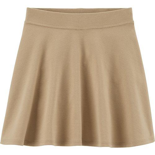 Girls 4-14 OshKosh B'gosh® Knit Uniform Skort