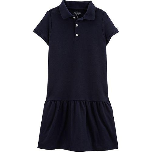 Girls 4-14 OshKosh B'gosh® Pique Uniform Dress