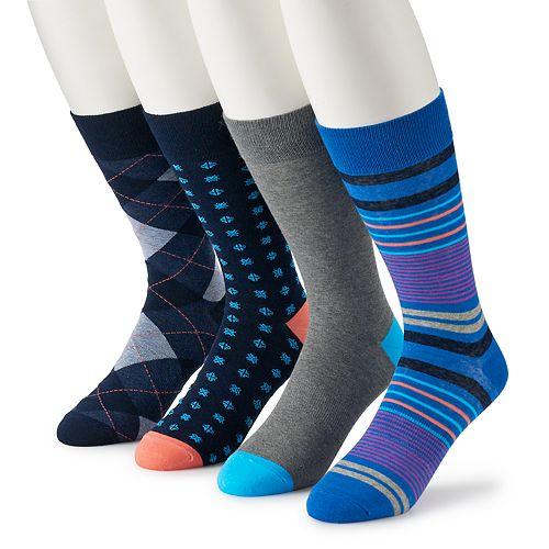 Men's Croft & Barrow® 4-pack Opticool Socks