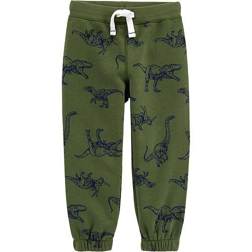 Baby Boy Carter's Dinosaur Pull-On Fleece-Lined Joggers