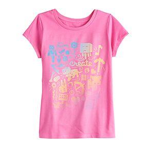 Girls 7-16 Minecraft Day Dream Graphic Tee