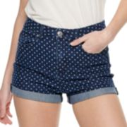 NEW! Juniors' Almost Famous Printed Shorts