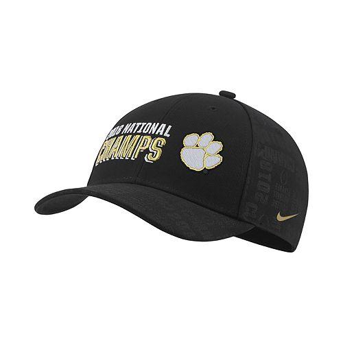 Adult Nike Clemson Tigers National Champs Locker Room Adjustable Cap ca7ea1c7499