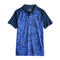 86887819ba5a Boys 8-20 Tek Gear® DryTek Polo in Regular & Husky