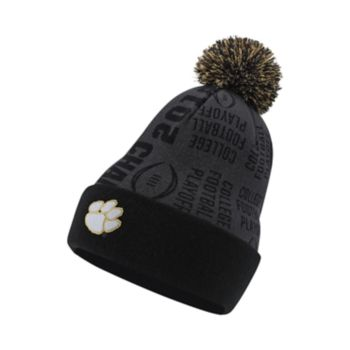 Adult Nike Clemson Tigers College Football Champions Celebration Knit Beanie
