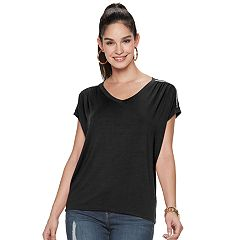 8dbdcd9f6801 Women's Jennifer Lopez Ruched Dolman Top