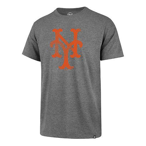 best website e0396 52424 Men's '47 Brand New York Mets Throwback Club Tee