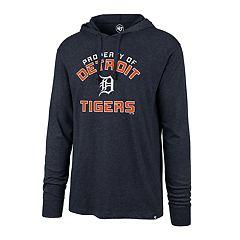Men's '47 Brand Detroit Tigers   Club Arch Hoodie