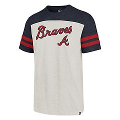 Men's '47 Brand Atlanta Braves  Endgame Club Tri-Colored Tee