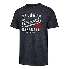Men's '47 Brand Atlanta Braves   Grandstand Match Tee