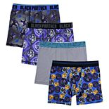 Boys 6-10 Black Panther 4-Pack Boxer Briefs