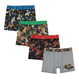 Boys 4-20 Lego Ninjago 4-Pack Boxer Briefs