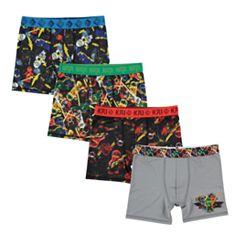 Boys 4-20 Lego Ninjago 4-Pack Boxer Briefs