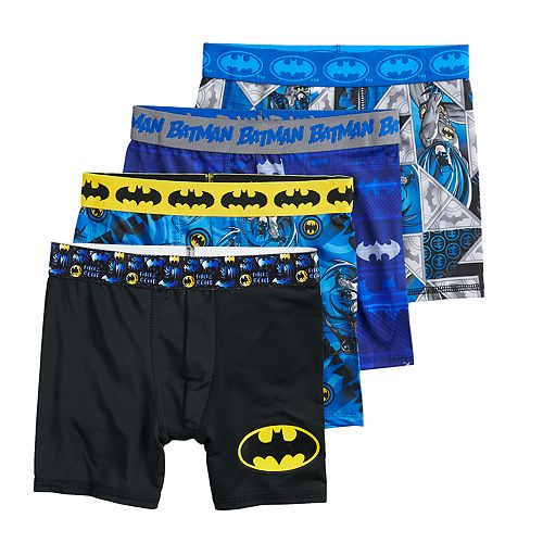 Boys 4-20 Batman 4-Pack Boxer Briefs