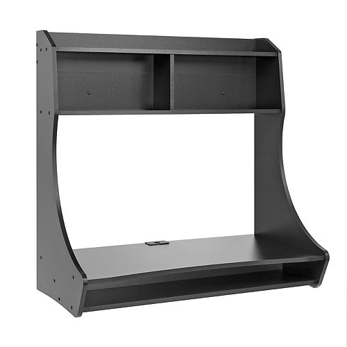 Prepac Compact Hanging Wall Desk