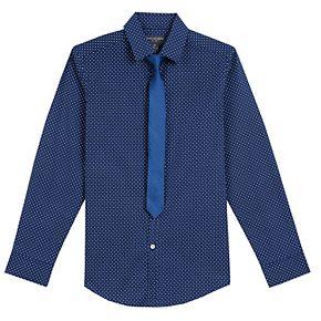Boys 8-20 Van Heusen Stretch Shirt & Tie Set