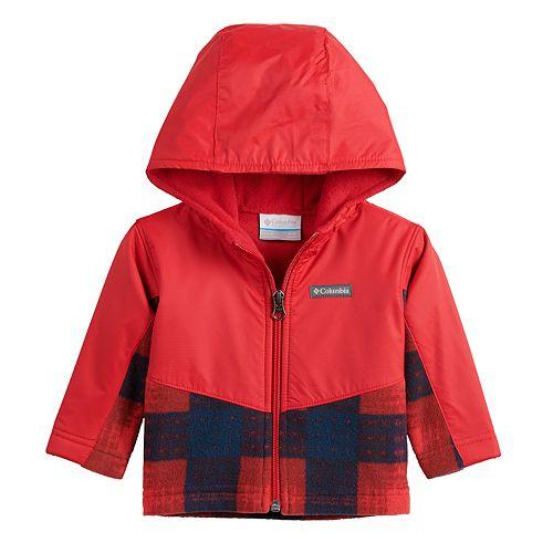 Baby Boy Columbia Steens Mountain Overlay Hoodie Jacket