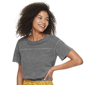 Juniors' SO® Cinched Bottom Tee