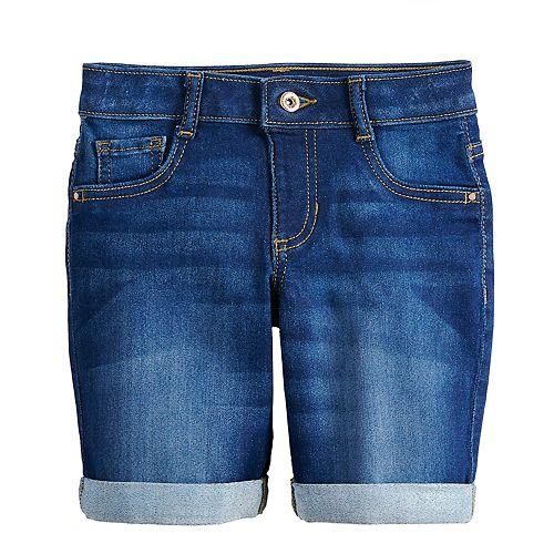 Girls 4-12 SONOMA Goods for Life™ Denim Bermuda Shorts